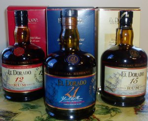 The family of El Dorado Premium Rums