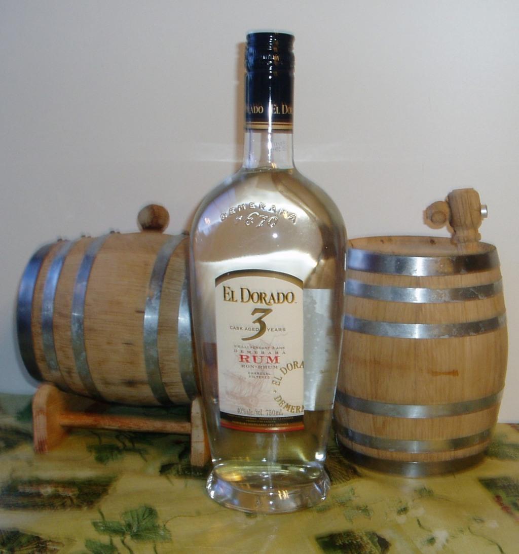 El Dorado Rums 3 yr