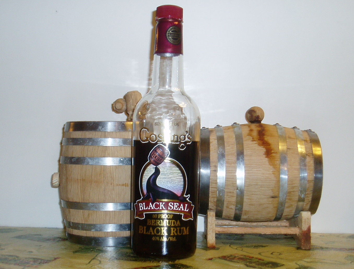 Goslings Black Seal The Rum Howler Blog Jagermeifter