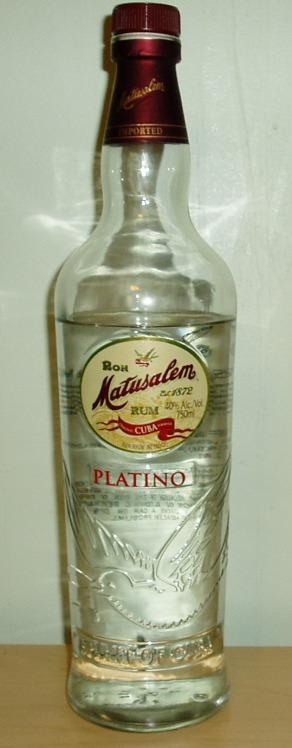 Ron Matusalem Platino
