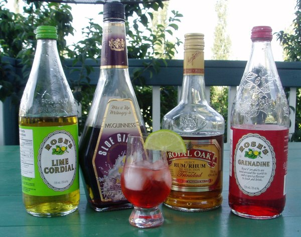 Sloe Lime Daiquiri Ingredients