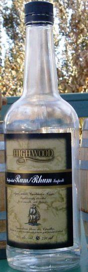 Highwood White Rum