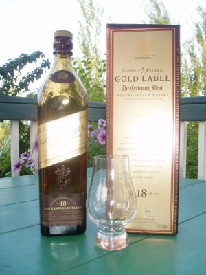 Johnnie Walker Gold Label The Centenary Blend The Rum