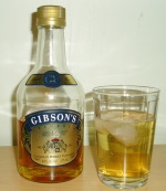 Gibsons 375ml with cocktail