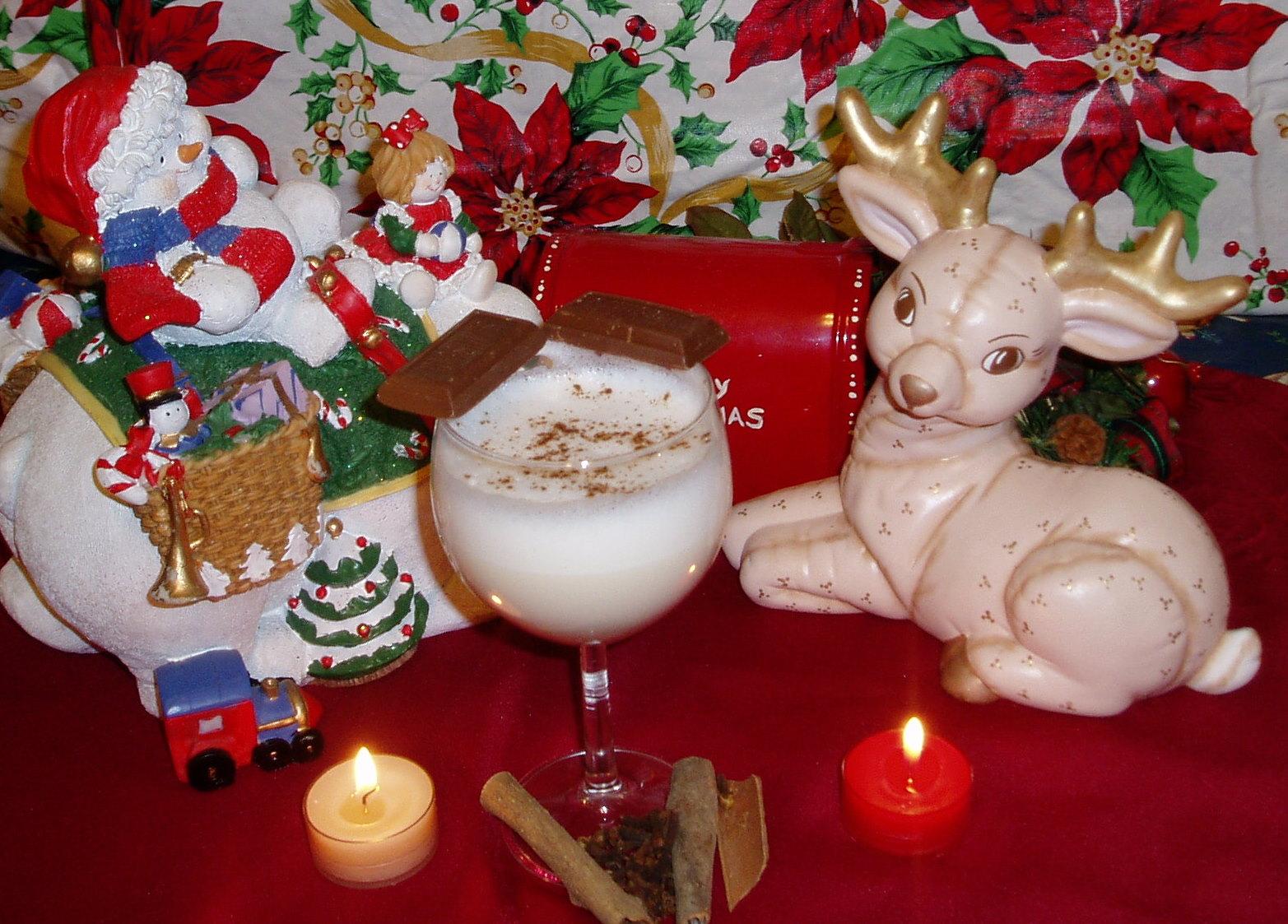 Arctic Wolf's Christmas Eggnog