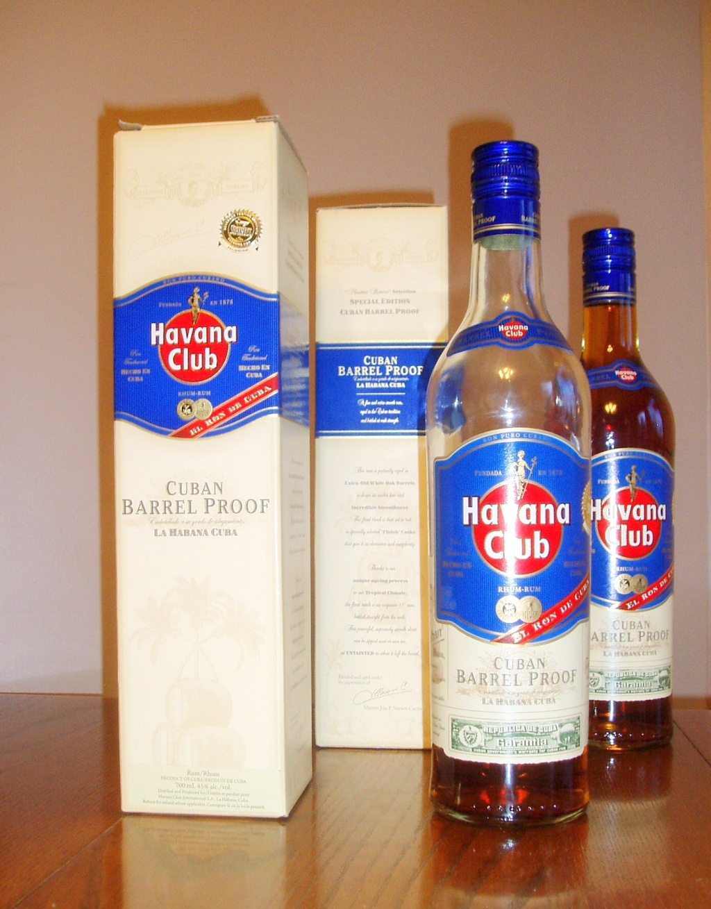 Havana Club Barrel Proof