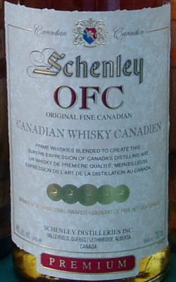 Schenley OFC Label