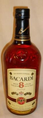Bacardi 8 Year Old Rum