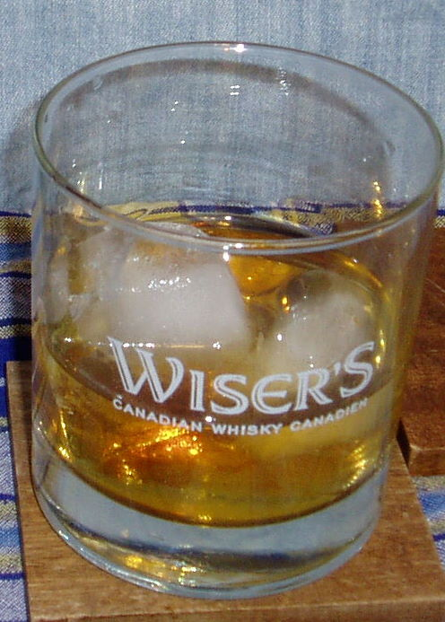 Wiser's with Ginger Splash
