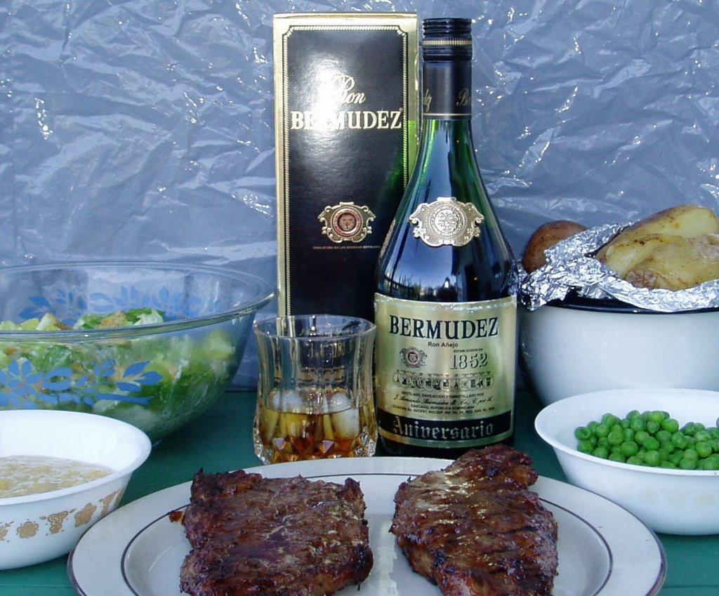 Grilled Steak And Bermudez Anniversario
