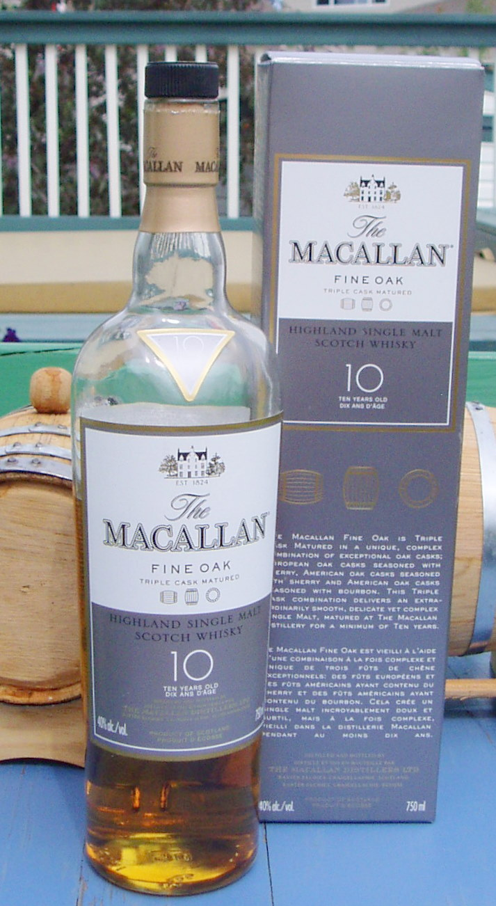 The Macallan 10 Year Fine Oak