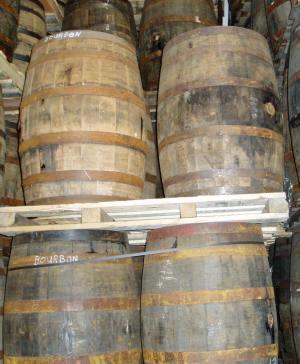 Photo of Barrels aging at Highwood Distillery
