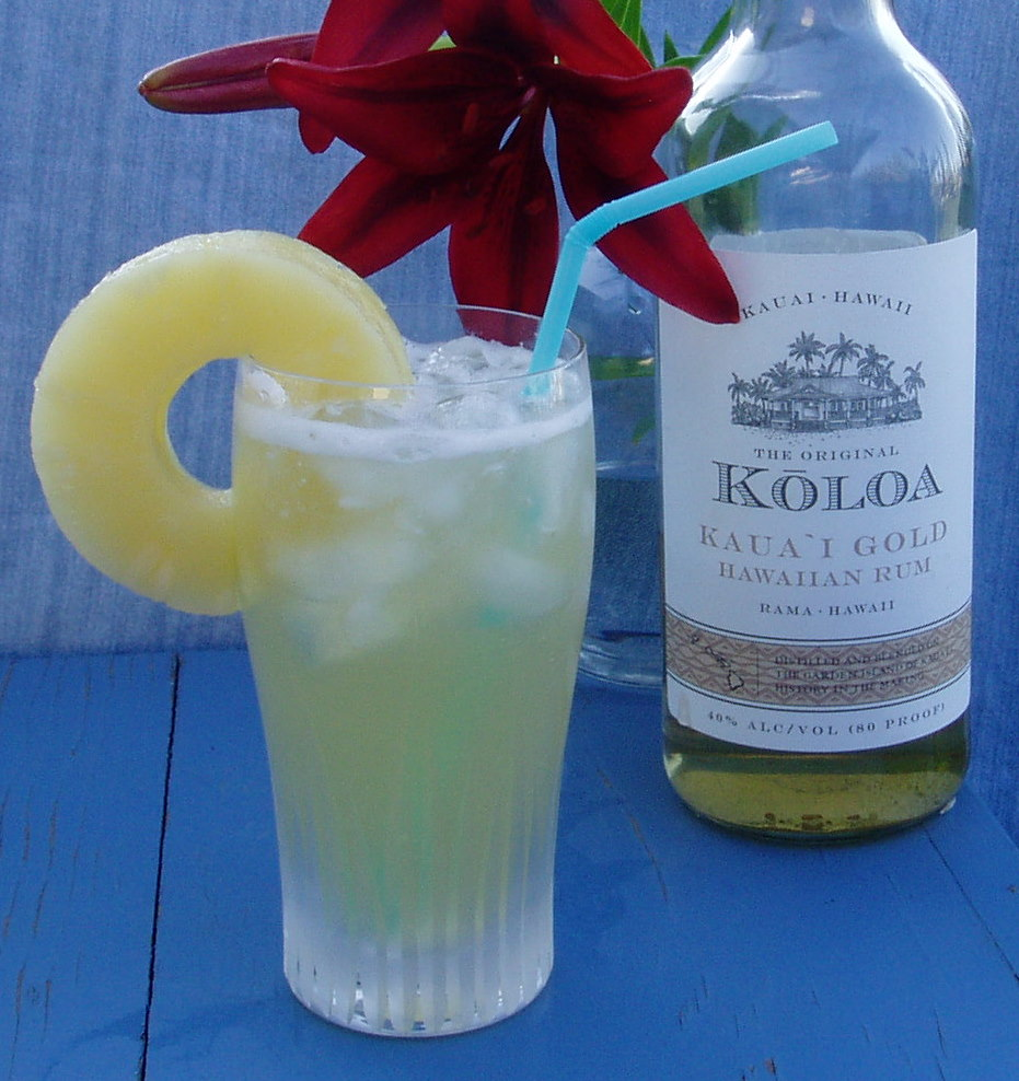 The Iced Kaua`i Cocktail