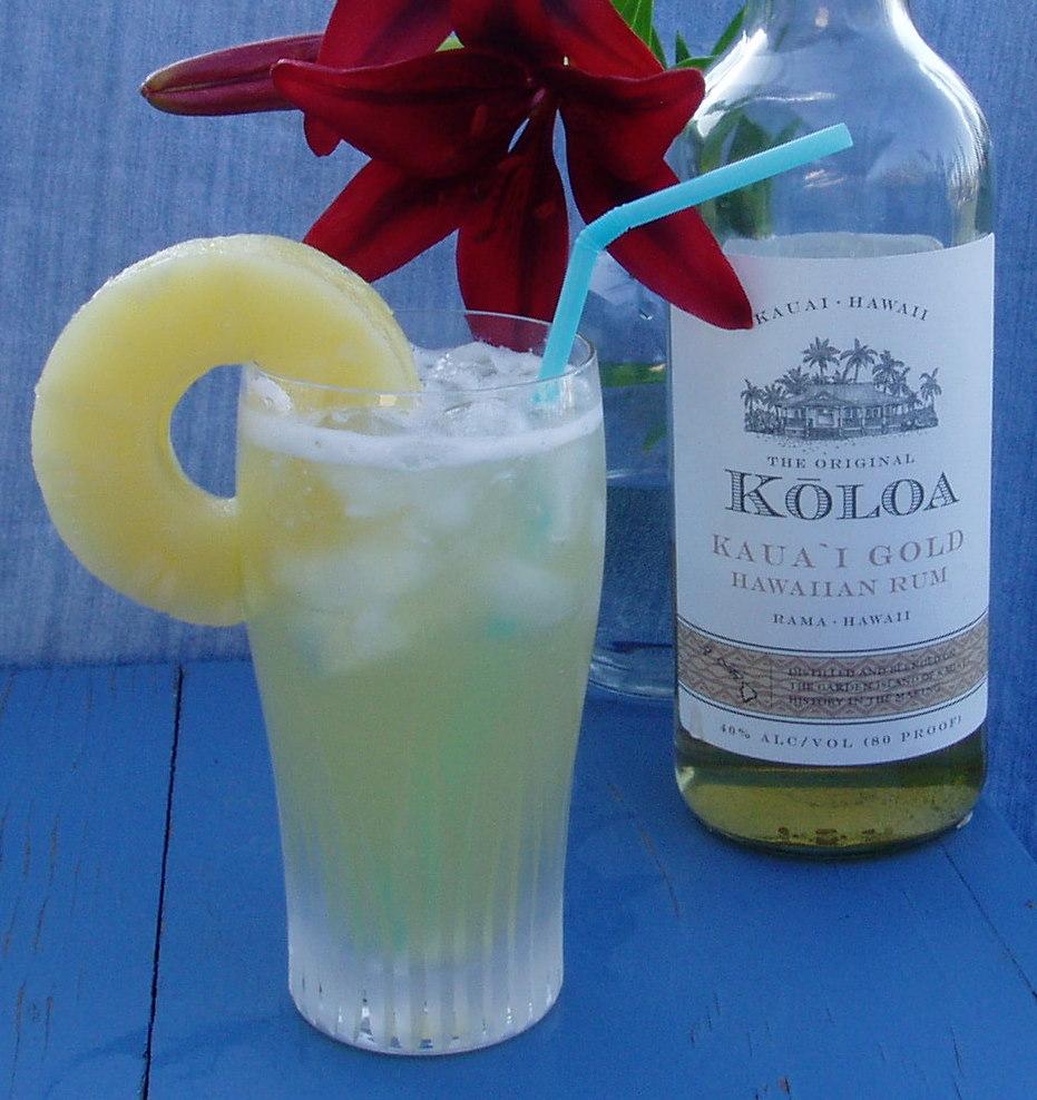 The Iced Kaua`i Cocktail