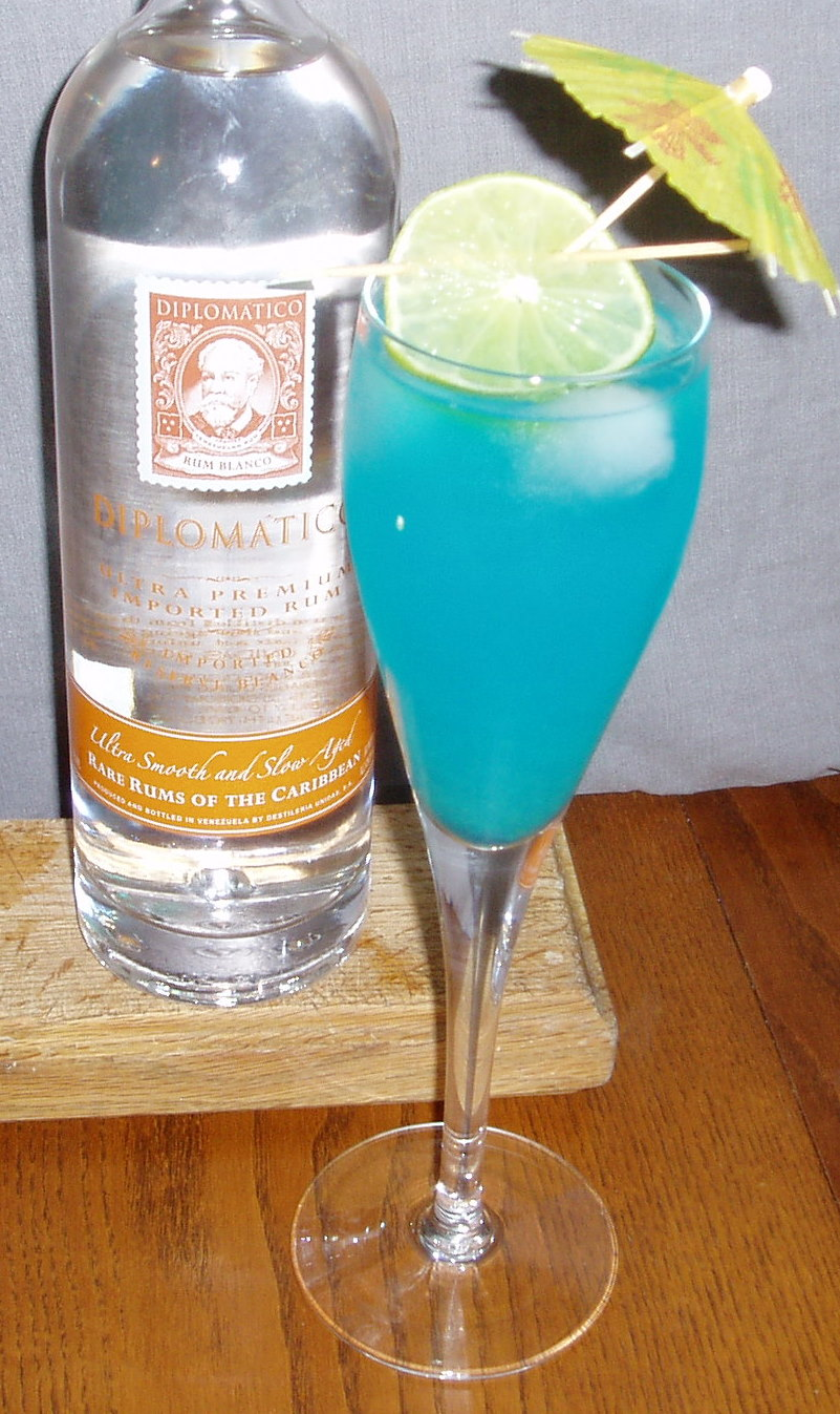 Connie's Sapphire Cocktail