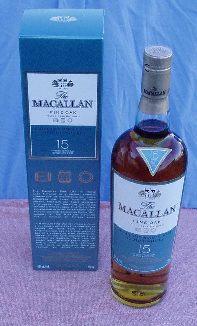 The Macallan Fine Oak 15