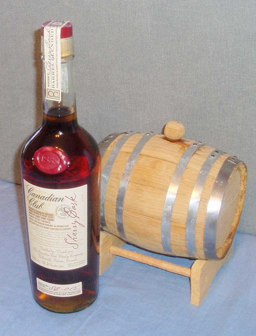 Canadian Club Sherry Cask