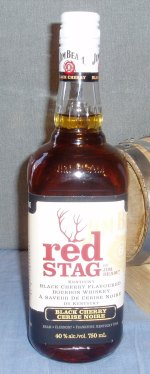 Red Stag Canadian Bottle