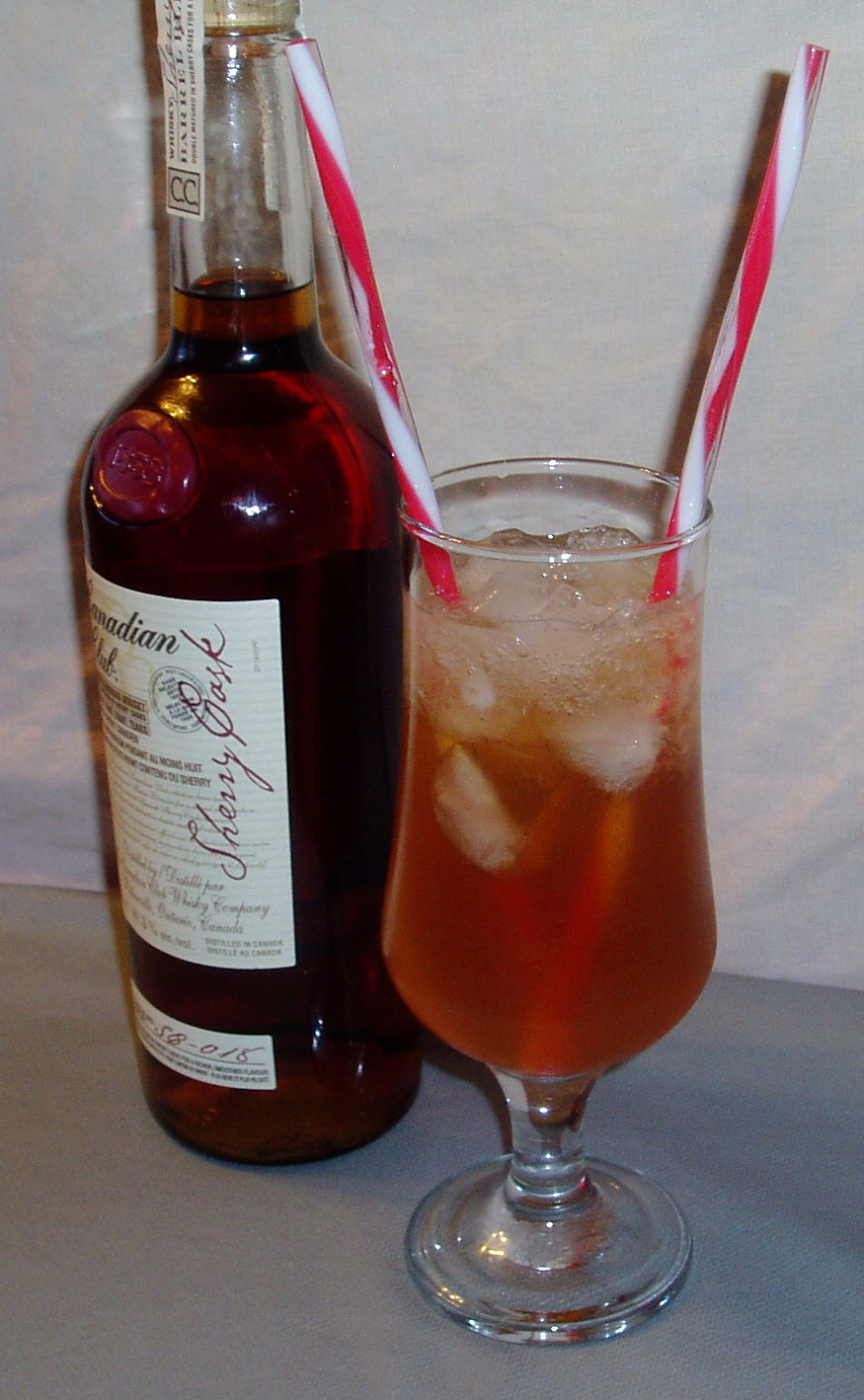 Canadian Club Swizzle