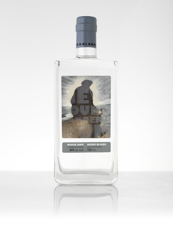 Newfoundlander's Rum 2 - white