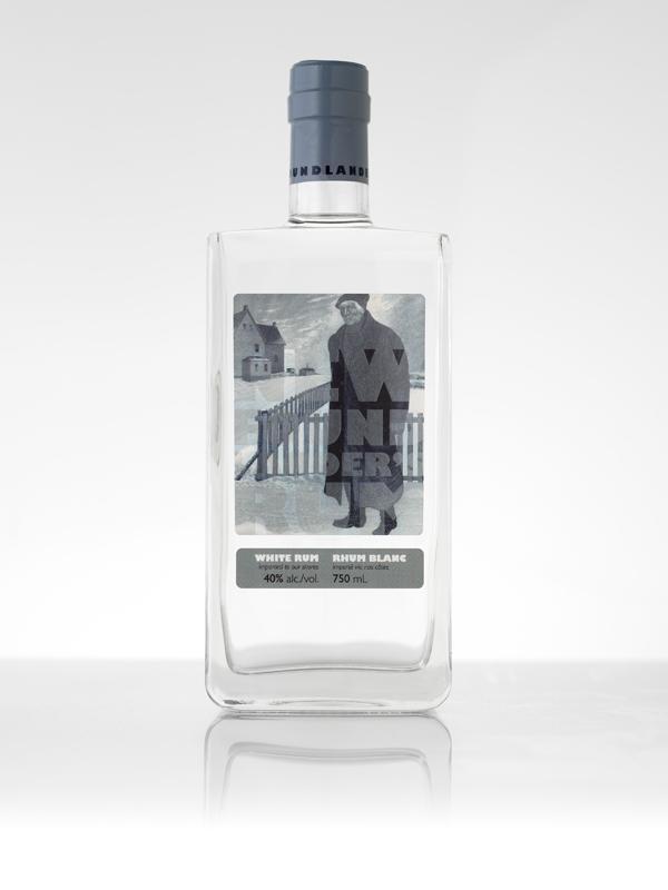 Newfoundlander's Rum 4 - white