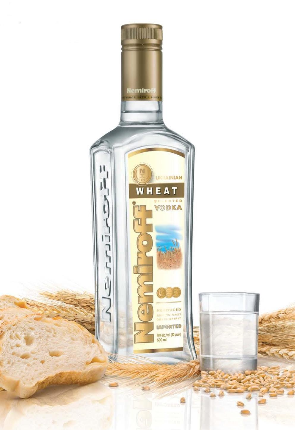 Nemiroff Ukrainian Wheat Vodka
