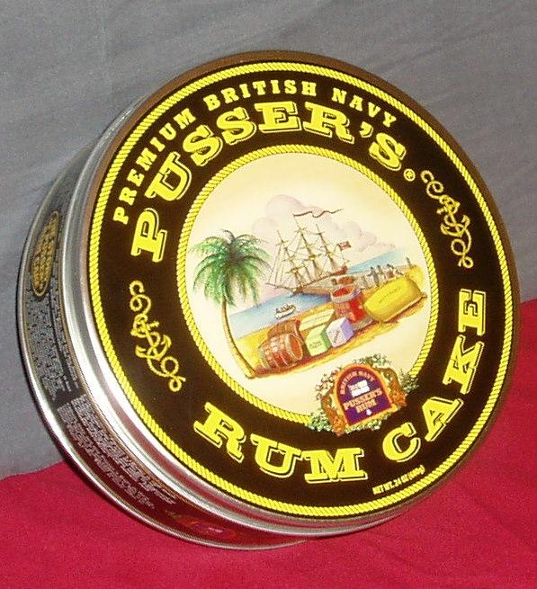 Pusser's Famous Rum Cake