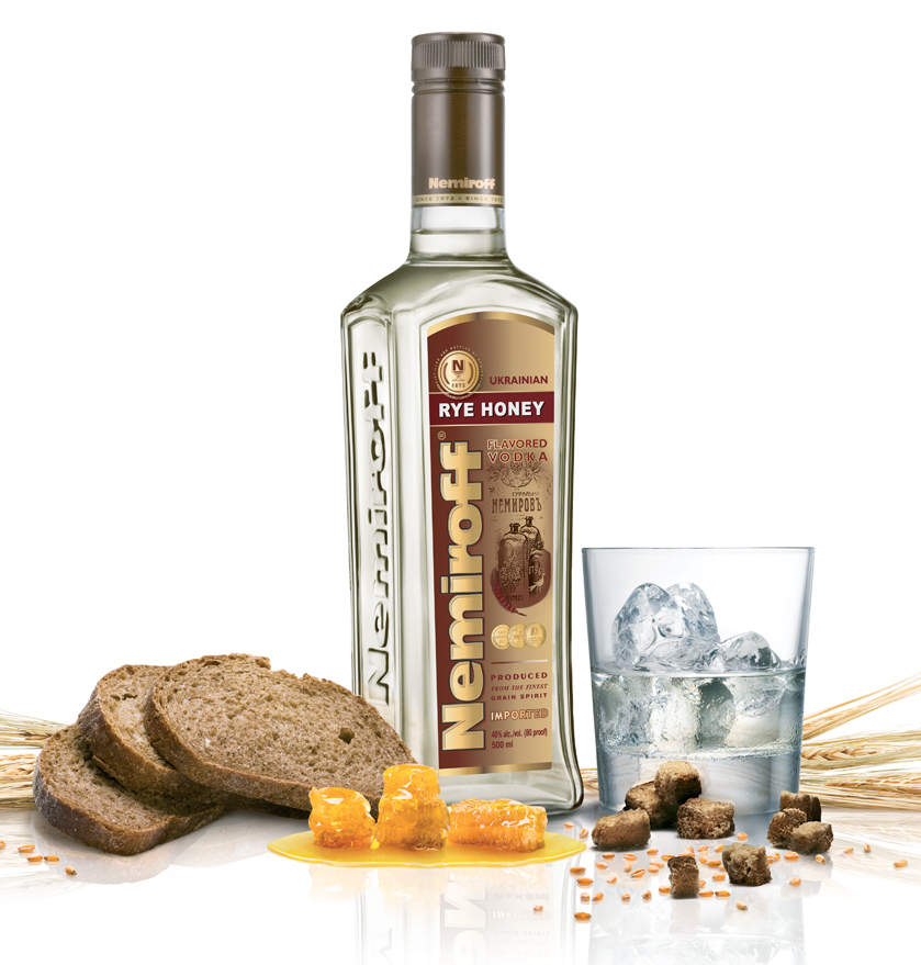 Nemiroff Rye Honey Vodka » Rye Honey Vodka