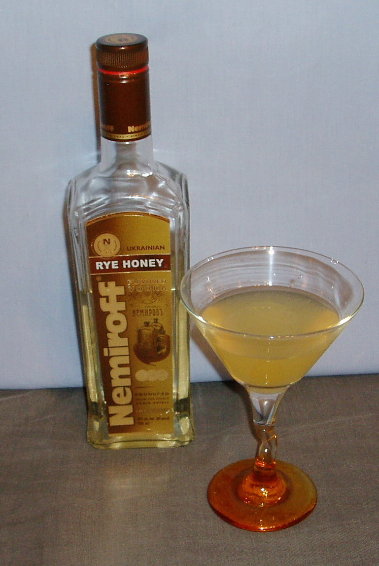 The Nemiroff Rye Honey Balalaika