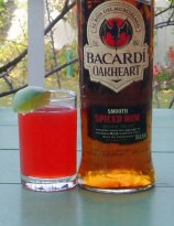 Island Sunset with Bacardi