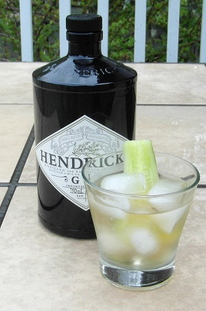 Hendrick's and Fever Tree Tonic