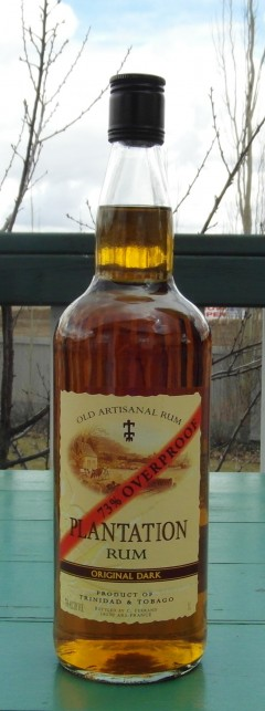 Plantation Original Dark 73 % Overproof Rum « The Rum ...