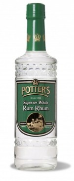 Potters White Rum