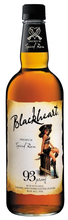 Blackheart Spiced bottle shot