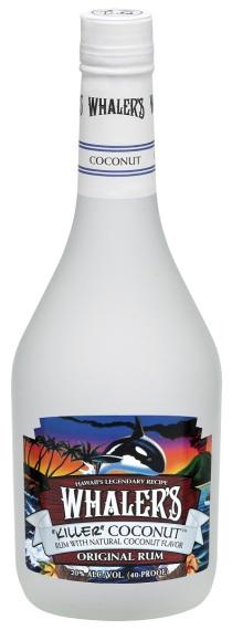 Whalers Coconut bottle shot