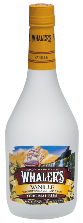 Whalers Vanille bottle shot