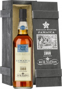 Rum Nation Jamaica 26yo (1986-12) SL VI  GB