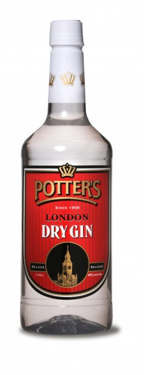 Potters Dry Gin