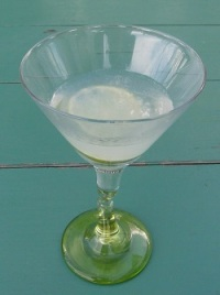 Lime Martini with Broker's
