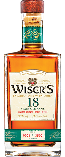 Wisers 18 Bottle Shot