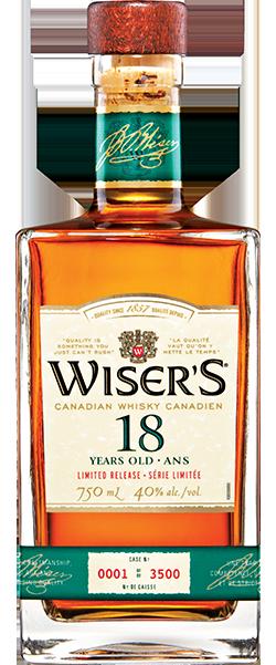 Wisers 18 Bottle Shot