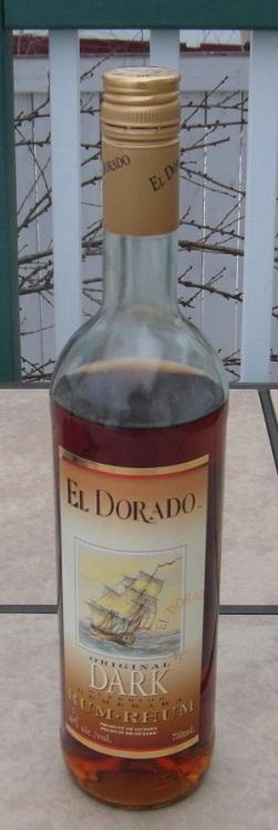 El Dorado Dark Rum SAM_1434