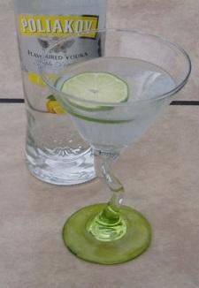 Easy Lemon Martini