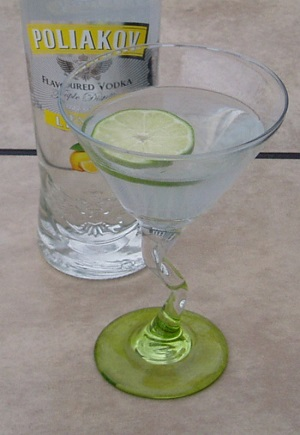 Easy Lemon Martini