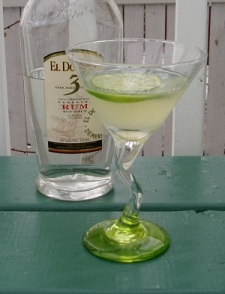 Lime Daiquiri à la mode
