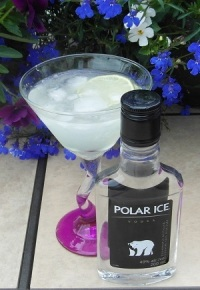Iced Vodka Daiquiri
