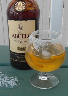 Abuelo rum club cocktail