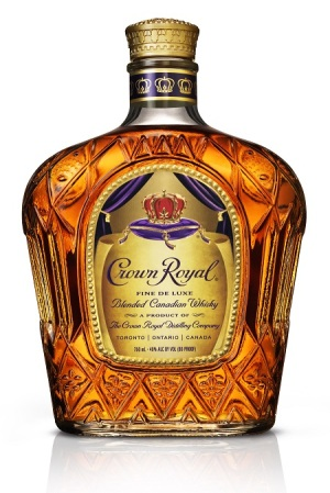 Crown Royal Deluxe Bottle Shot