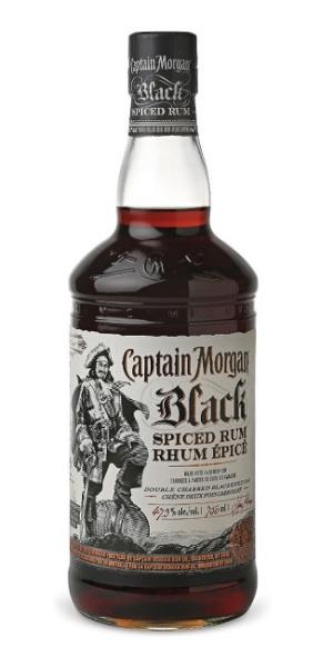 Captain Morgan Black Spiced Rum The Rum Howler Blog